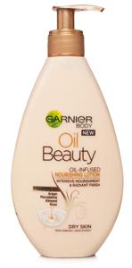 Garnier Oil Beauty Olajjal Gazdagított Tápláló Testápoló