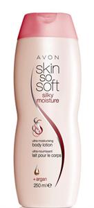 Avon Skin So Soft Silky Moisture Selymesen Hidratáló Testápoló Argánolajjal
