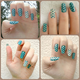 Dotted Teal