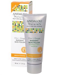 Andalou Naturals Chia + Omega Radiant Skin Polish