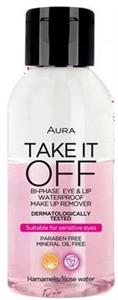 Aura Take It Off Kétfázisú Vízálló Festéklemosó