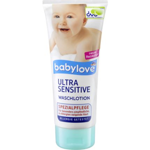 Babylove Ultra Sensitive Waschlotion
