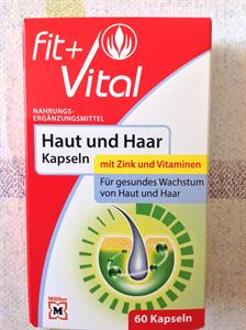 Fit + Vital Haut Und Haar Kapseln