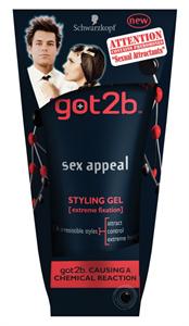 Got2b Sex Appeal Hajformázó Zselé