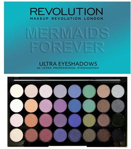 MakeUp Revolution Mermaids Forever 32 Shade Eyeshadow