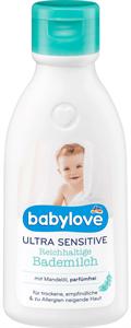 Babylove Ultra Sensitive Fürdőtej