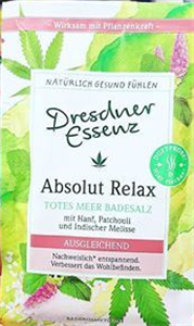 Dresdner Essenz Absolut Relax Fürdősó