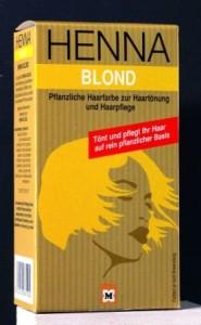 Henna Blond Szőke