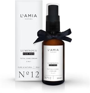 L'amia Natura Luminous For Men Total Care Cream 3 In 1