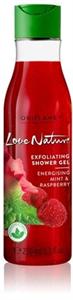 Oriflame Love Nature Radírozó Tusolózselé Mentával és Málnával