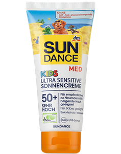 Sundance Med Kids Ultra Sensitive Sonnencreme