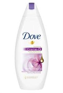 Dove Supreme Oil Virágos Kényeztetés Tusfürdő