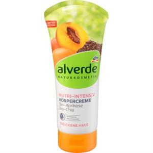 Alverde Nutri-Intensiv körpercreme Bio-Aprikose, Bio-Chia