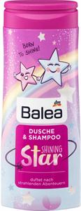 Balea Shining Star Tusfürdő és Sampon