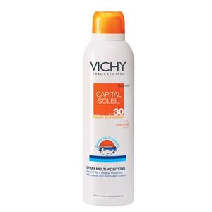 Vichy Capital Soleil Multi-Pozíciós Spray Gyermekeknek SPF30