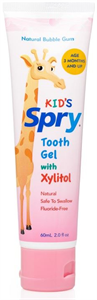 Xlear Kid's Spry Tooth Gel with Xylitol
