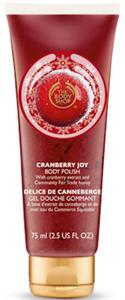 The Body Shop Cranberry Joy Vörösáfonyás Testradíros Tusfürdő