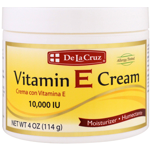 De La Cruz Vitamin E Cream