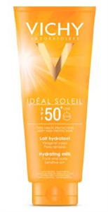 Vichy Ideal Soleil Napvédő Tej Arcra és Testre SPF50+