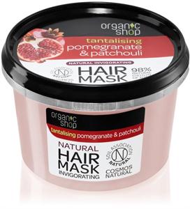 Organic Shop Tantalising Pomegranate & Patchouli Hair Mask