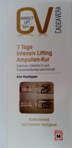 CV Cadea Vera 7 Tage Intensiv Lifting Ampullen Cure