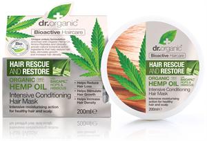 dr. Organic Hajserkentő Intenzív Hajpakolás