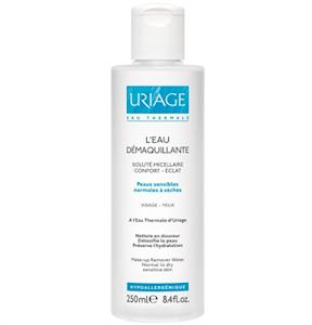 Uriage Micellás Arc- és Sminklemosó Normál vagy Száraz Bőrre