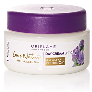 Oriflame Love Nature Öregedésgátló Nappali Krém SPF10