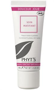 PHYT'S Soin Matifiant - Bio mattító nappali krém zsíros bőrre