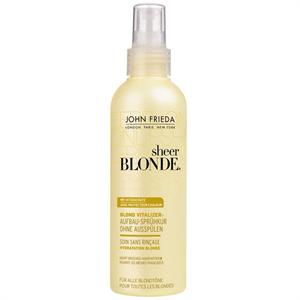 John Frieda Sheer Blonde Színélénkítő, Regeneráló Hajápoló Spray
