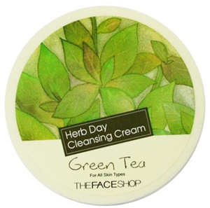 Thefaceshop Herb Day Cleansing Cream - Green Tea