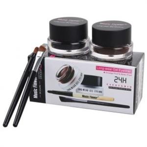 Music Flower 2in1 Brown Black Gel Eyeliner Waterproof