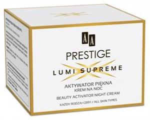 AA Prestige Lumi Supreme Beauty Activator Éjszakai Arckrém
