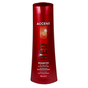 Accent Red Sampon