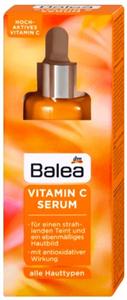 Balea Arcápoló Szérum C-Vitaminnal Minden Bőrtípusra