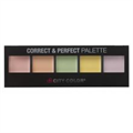 City Color Cosmetics Correct & Perfect Palette Színkorrektor Paletta