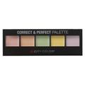 City Color Cosmetics Correct & Perfect Palette Színkorrektor Paletta