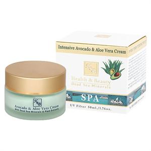 Health & Beauty Intenzív Hidratáló Arckrém Avokádóval és Aloe Veraval