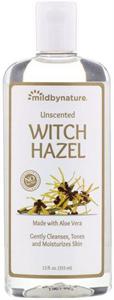 Mild By Nature Unscented Witch Hazel Toner
