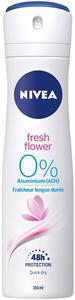 Nivea Fresh Flower 0% Aluminium Salts 48H Deodorant