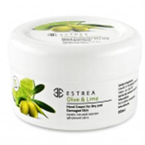 Estrea Olive & Lime Tápláló, Hidratáló Kézkrém Igénybevett Bőrre (régi)
