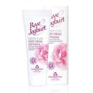 Bulgarian Rose Rose Joghurt Puhító Lábápoló Krém