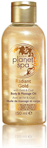 Avon Planet Spa Radiant Gold Test- és Masszázsolaj