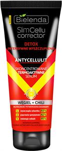 Bielenda Slimcellu Corrector - Intenzív Karcsúsító, Anti-Cellulit Hatású Thermoaktív Szérum Chilivel