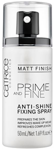 Catrice Prime And Fine Anti-Shine Fixing Spray