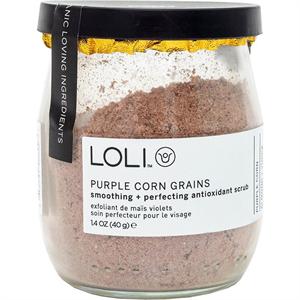 LOLI Purple Corn Grain Radírozó Por