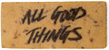 Lush All Good Things Fürdőlap
