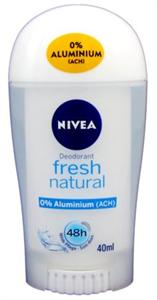 Nivea Deo Stick Fresh Natural 0% Aluminium