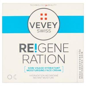 Vevey Swiss Re!Generation Hidratáló Nappali/Éjszakai Arckrém Vízhiányos Bőrre