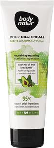 Body Natur Body Oil In Cream Krém Alapú Testolaj